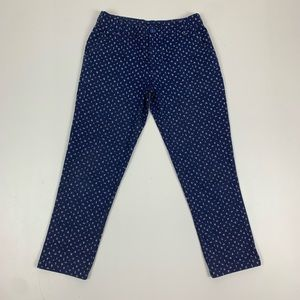 Patagonia Blue Cropped Ankle Pants